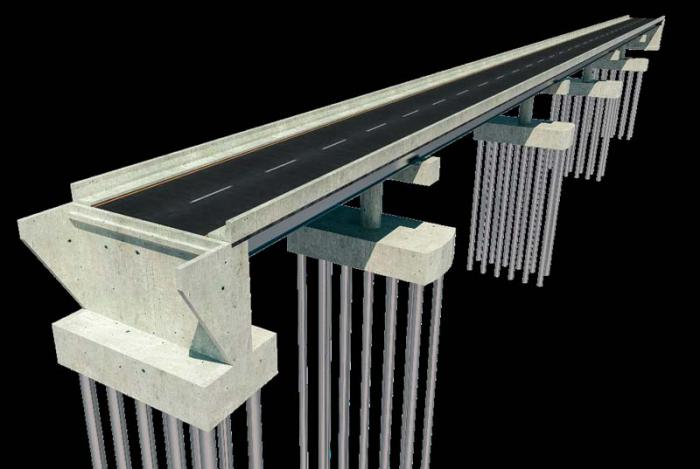 puente toa maqueta virtual