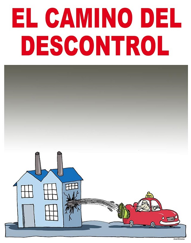descontrol gasolina