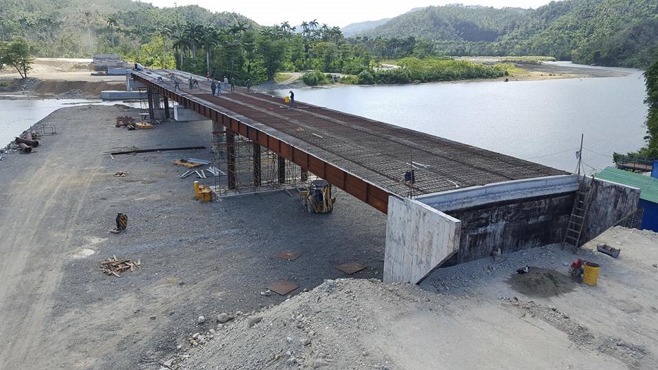 En fase final construcción de puente sobre el río Toa, en el oriente cubano (+Fotos)