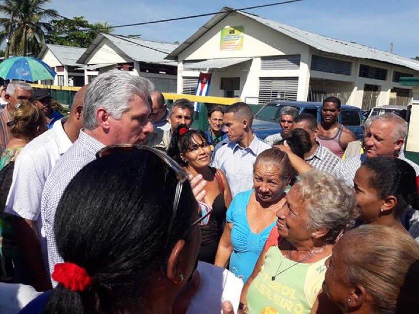 Prosigue Díaz-Canel visita gubernamental en Guantánamo