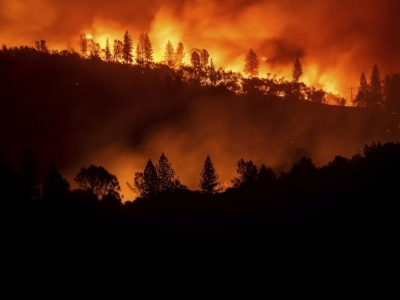 Sigue la búsqueda de 1,200 desaparecidos en gran incendio