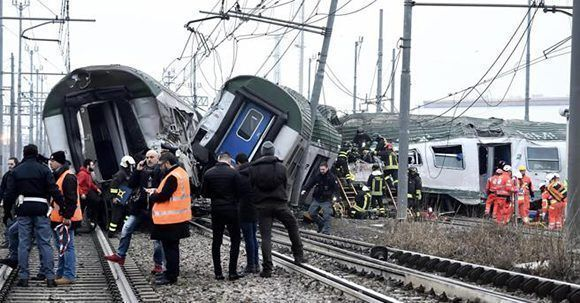 accidente tren milan