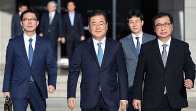 Delegación surcoreana se entrevista con Kim Jong Un en Corea del Norte