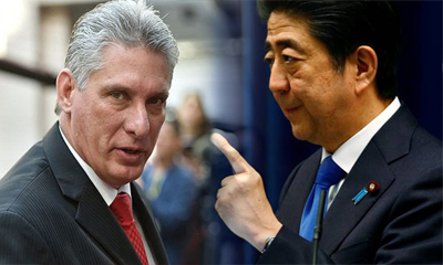 diaz-canel-japon-shinso-abe