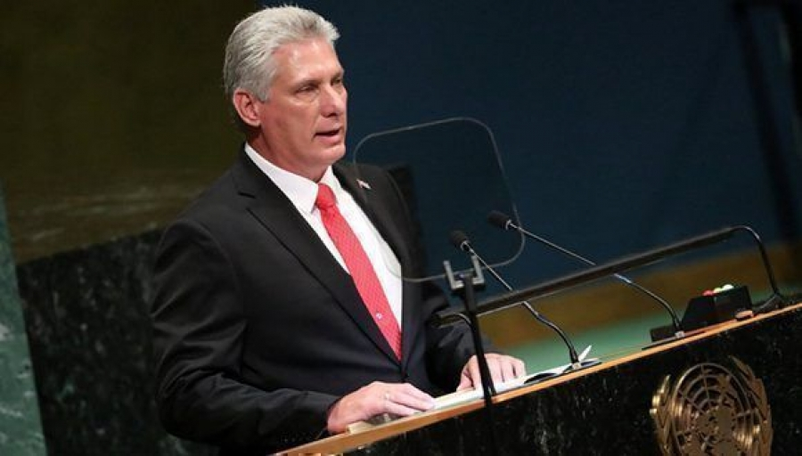 Presidente de Cuba ratifica continuidad de Revolución pese a bloqueo