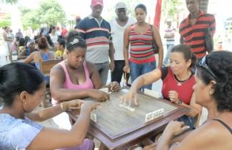 Celebran Copa provincial de Dominó Femenino 23 de Agosto