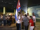 Abanderada delegación cubana a congreso estudiantil regional