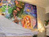 Develan en La Habana mural artístico Resistencia contra el bloqueo