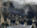 26 muertos y 40 heridos en el incendio en un estudio de anime en Japón