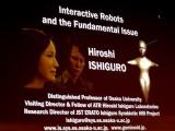 Académico japonés presenta en Informática Habana robot humanoide