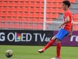Carlos Vázquez, un cubano en el Atlético de Madrid