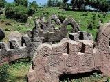 Himalaya: Descubren extrañas esculturas pertenecientes a una civilización desconocida