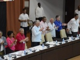 Díaz-Canel asiste a jornada de debate del XXI Congreso de la Central de Trabajadores de Cuba