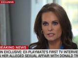 Ex modelo de Playboy: Trump quiso pagarme después de tener sexo