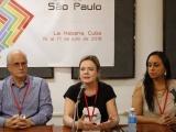 Solidaridad internacional es clave para la liberación de Lula, asegura la presidenta del PT