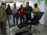 Visita Ramiro Valdés Empresa de Equipos Médicos Retomed