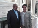 Presidente sudafricano recibe a vicepresidenta cubana