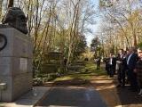 Presidente cubano rinde tributo a Karl Marx en Londres