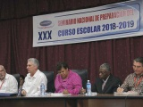 Participa Díaz.Canel en Seminario sobre educación en el deporte