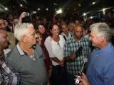 Presidente cubano Díaz-Canel continúa visita a Sancti Spíritus