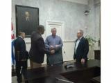Presidente de Cuba visita Tribunal Supremo Popular