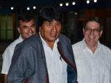 Visita Cuba presidente de Bolivia Evo Morales