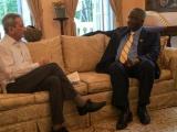 José Ramón Balaguer recibe a Primer Ministro de Barbados