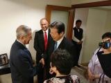 Recibe dirigente del Comité Central del Partido Comunista de China a José Ramón Balaguer