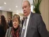 Ministro cubano y Secretaria Ejecutiva de la Cepal se reúnen en Suiza