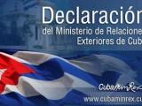 Cuba rechaza enérgicamente la amenaza de activación del Título III de la Ley Helms Burton