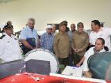 Continuó Raúl recorrido por empresas militares industriales del país