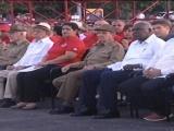 Preside Rául Castro Acto Central por el Día de la Rebeldía Nacional en Pinar del Río