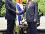 Recibió Raúl al Presidente de Kenya