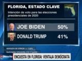 USA-elecciones: Primera señal no favorable a Trump