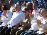 Presiden Raúl y Díaz-Canel inauguración de Escuela especial